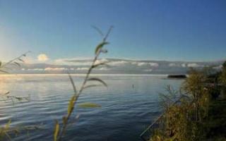 Back at Lake Ohrid - Morning impressions at the lakeside