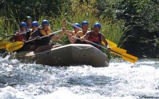Rafting on Alara River in Turkey