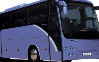 Bus Trip in Turkey