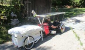 Jean-Yves - Solar Trike and the Mini Caravan - just a try?