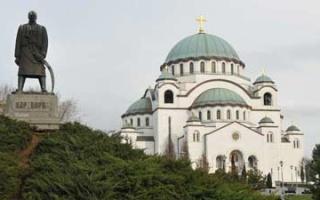 From Brunn to Belgrade, visiting Memorial Church of St. Savas