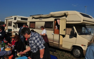 Camping Club Serbia - meeting at the Danube near Smederevo
