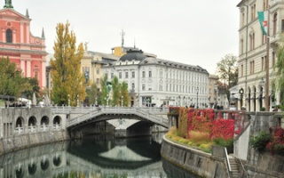 Ljubljana - first impressions and a little historical background