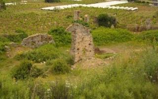 The antique town Naula in Mahmutlar