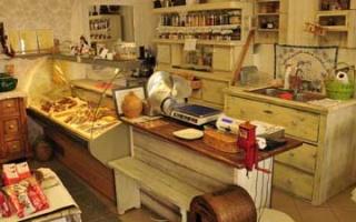 Györ - Small shops for curiosities and specialties