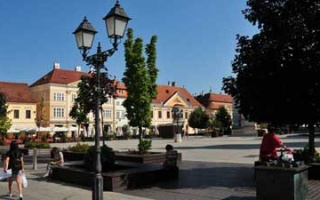On the way to Vienna - short visit to Györ in Hungary