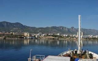 By camper or caravan from Tasucu to Northern Cyprus?